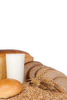 Free Milk And Grain Stock Photo - 13803100