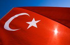 Free Turkish Flag Stock Image - 13803121