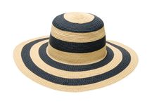 Free Summer Straw Hat Royalty Free Stock Photo - 13803205