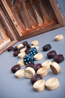 Free Backgammon Stock Photography - 13803362