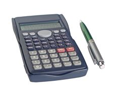 Free Calculator And Pen Royalty Free Stock Image - 13803376