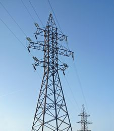 Free Electric Power Line Stock Image - 13803421