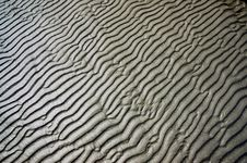 Free Wet Sand Waves Texture Royalty Free Stock Photos - 13803748