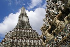 Free Wat Arun Stock Photography - 13803802