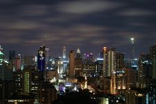 Free Bangkok At Night Stock Photos - 13803903