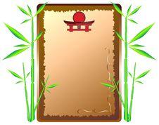 Free Framework-menu And Bamboo Stock Photos - 13805303