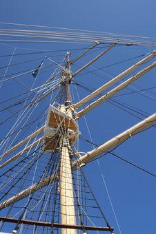 Free White Mast Stock Image - 13805361