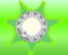Free Telephone Disk Stock Photo - 13805390
