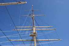 Free White Mast Stock Photo - 13805400