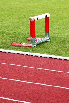 Free Track And Hurdles Stock Photos - 13805463