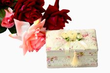 Free Gift In A Holiday Stock Photo - 13805500
