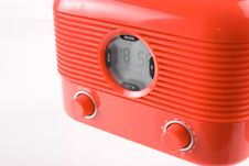 Red Radio Stock Images