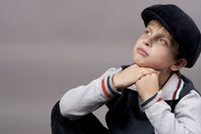 Free Teen In Cap Stock Images - 13805954