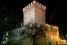 Free San Martino Tower By Night Stock Photo - 13807250