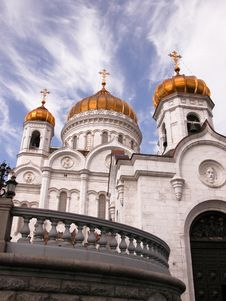Free Cathedral Of Christ The Savior. Stock Images - 13807934