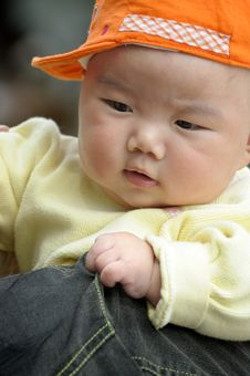 Free Cute Baby Stock Photography - 13808032