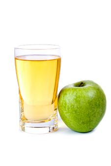 Free Glass Of Apple Juice Royalty Free Stock Image - 13808056
