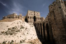 Free Citadel In Aleppo Stock Images - 13808404