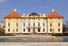 Free Beautiful Castle Slavkov-Austerlitz,Czech Republic Stock Photography - 13809682