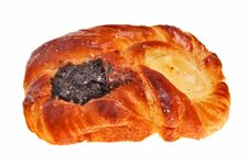 Free Delicious, Tasty Bun. Royalty Free Stock Photography - 13809997