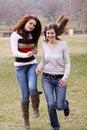 Free Walking Women Stock Images - 13811234