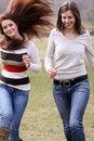 Free Walking Women Royalty Free Stock Image - 13811246