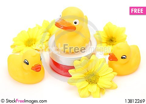 Free Subjects For A Shower Royalty Free Stock Images - 13812269