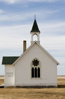 Free Historic Small,pioneer Church Royalty Free Stock Image - 13810066
