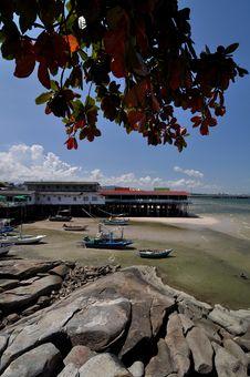 Free Hua-Hin Beach Royalty Free Stock Images - 13810319