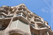 Free La Pedrera Facade Close Up Stock Images - 13810454