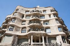 Free La Pedrera Facade Stock Photo - 13810480