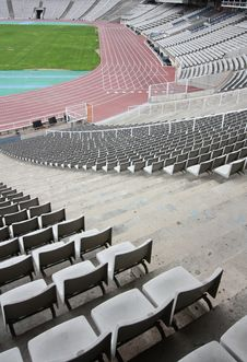 Free Olympic Stadium Of Montjuic (Barcelona) Stock Photo - 13810550