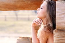 Free Beautiful Young Woman Stock Photography - 13811162