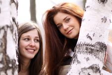 Free Two Young Women Stock Photo - 13811270