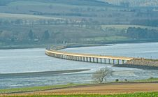 Free Bridge Over The Cromarty Firth. Royalty Free Stock Image - 13811286