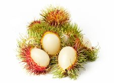 Free Exotic Thai Fruit Rambutan Or Ngo Royalty Free Stock Photo - 13812085