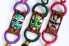 Peking Opera Mask Royalty Free Stock Photography