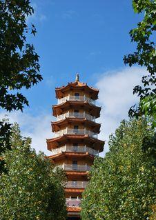 Free Chinese Pagoda Stock Photo - 13813040