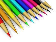 Free Crayons Royalty Free Stock Image - 13813286