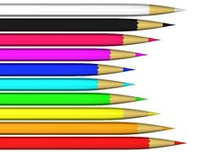 Free Crayons Stock Photo - 13813380
