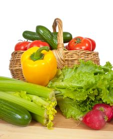 Free Ripe Vegetables Royalty Free Stock Image - 13813856