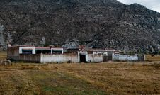 Free Farmhouse In Tibet Stock Images - 13814764