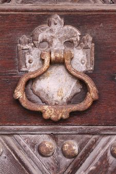 Free Door Knocker Stock Images - 13815044