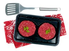 Free Packaged Beef Patties Stock Photos - 13815103