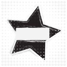 Free Grunge Star  Design Stock Photos - 13815253