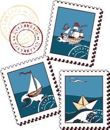 Free Stamps Stock Images - 13815614