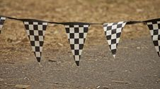 Free Checkered Flag, F1 Grounds Royalty Free Stock Image - 13815656