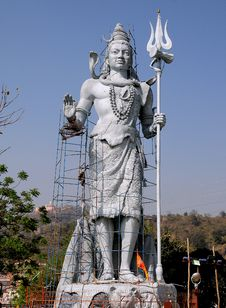 Free Statue Of Lord Shiva Royalty Free Stock Images - 13816119