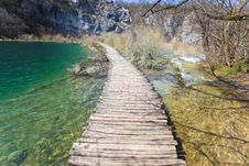 Free Plitvice National Park Royalty Free Stock Photos - 13816278