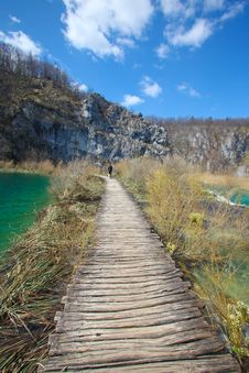 Free Plitvice Lakes In Croatia Royalty Free Stock Photos - 13816298